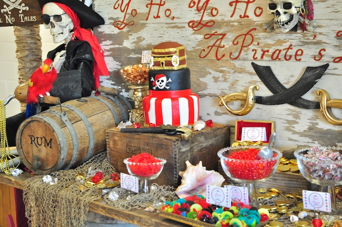 Kara's Party Ideas Pirates Of The Caribbean Birthday Party