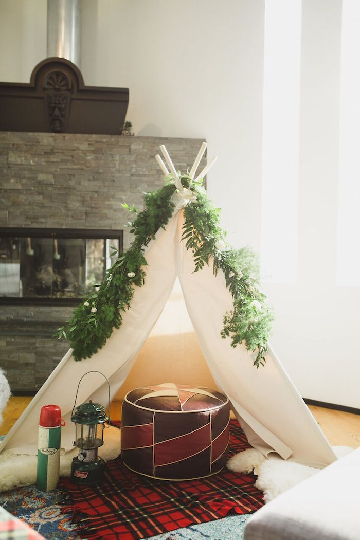 Karas Party Ideas Rustic Camping Baby Shower Karas