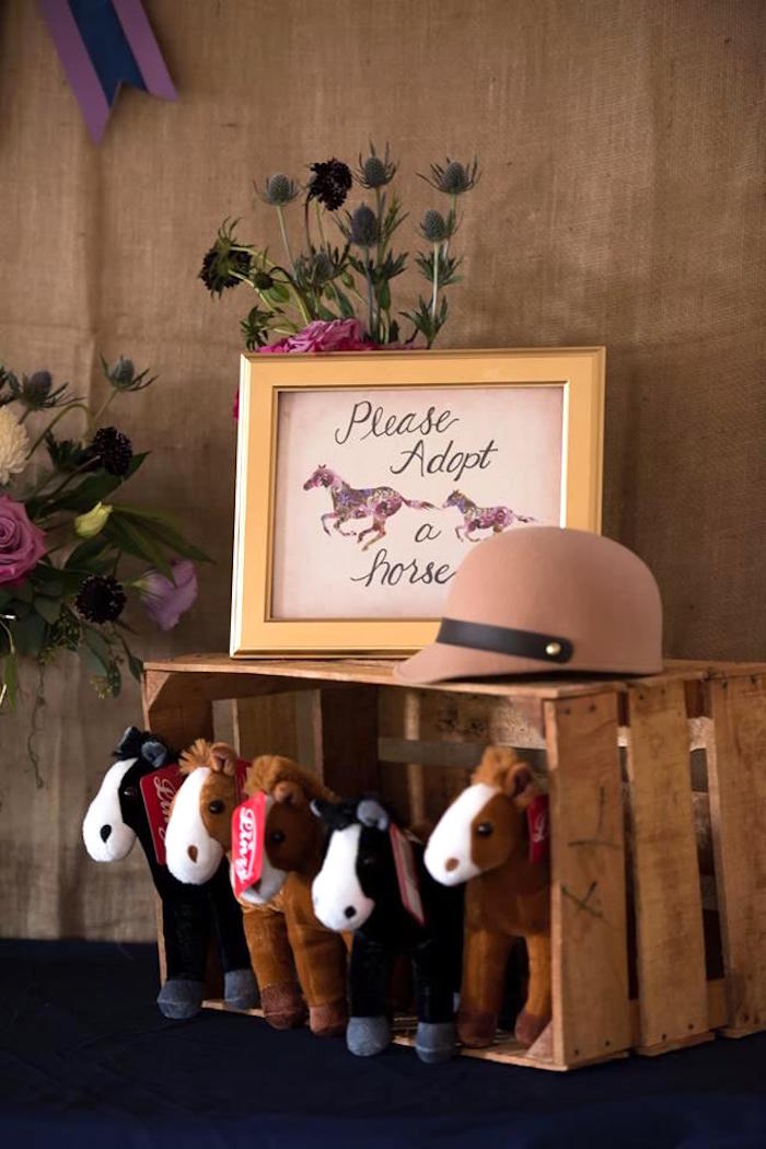 Kara S Party Ideas Rustic Equestrian Horse Birthday Party