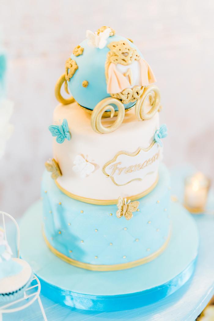 Karas Party Ideas Vintage Cinderella Birthday Party