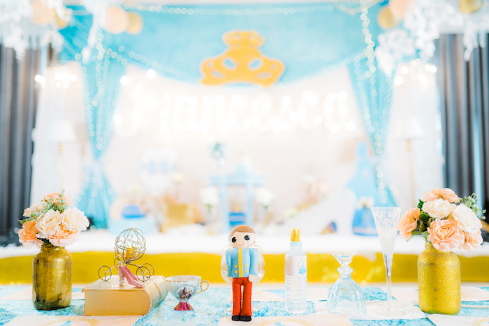 Karas Party Ideas Vintage Cinderella Birthday Party
