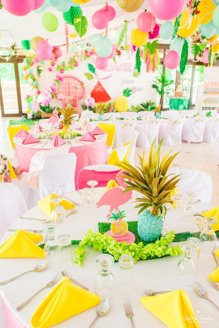 Kara S Party Ideas Chic Flamingo Birthday Party Kara S