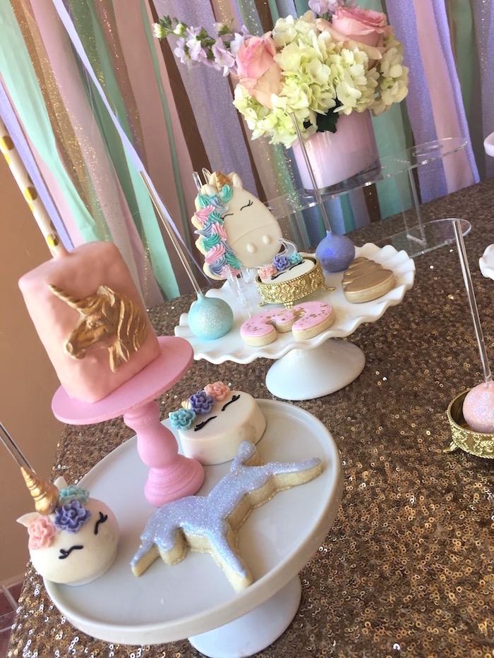 Kara S Party Ideas Unicorn 3rd Birthday Party Kara S