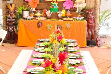 decorating for a luau party path decorations pictures full path