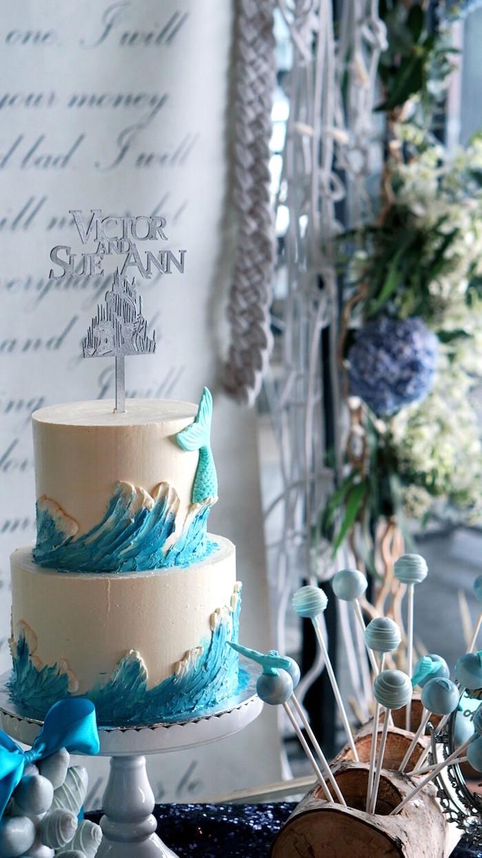 Blue Winter Wedding Ideas