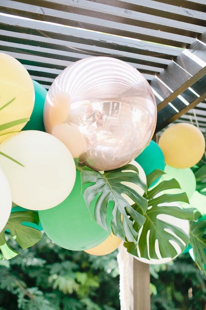 Kara S Party Ideas Jungle 1st Birthday Party Kara S