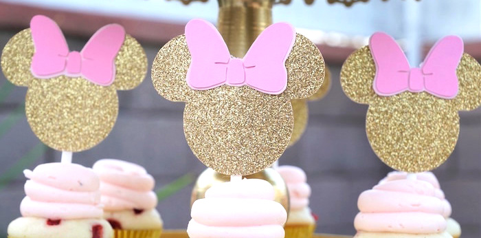 Kara S Party Ideas Glamorous Floral Minnie Mouse Birthday Party Kara S Party Ideas