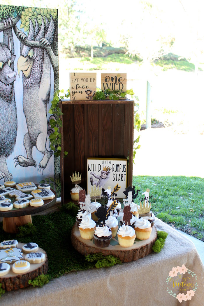 Kara S Party Ideas Where The Wild Things Are Birthday Party Kara S Party Ideas