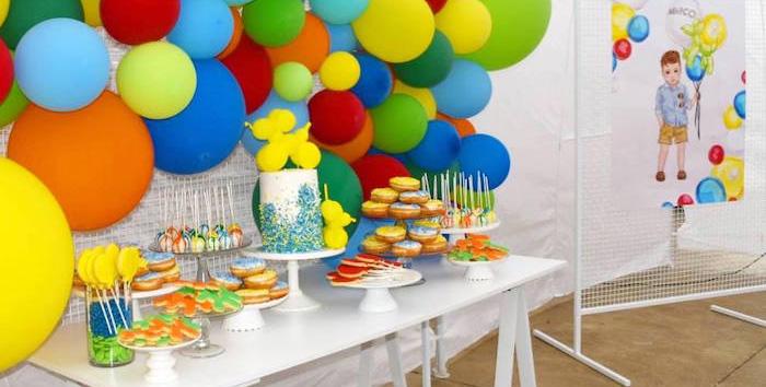 Smart Idea Balloon Theme Party Ideas