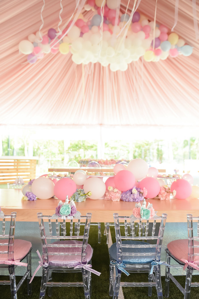 Karas Party Ideas Dream Believe Amp Wish Pastel Unicorn