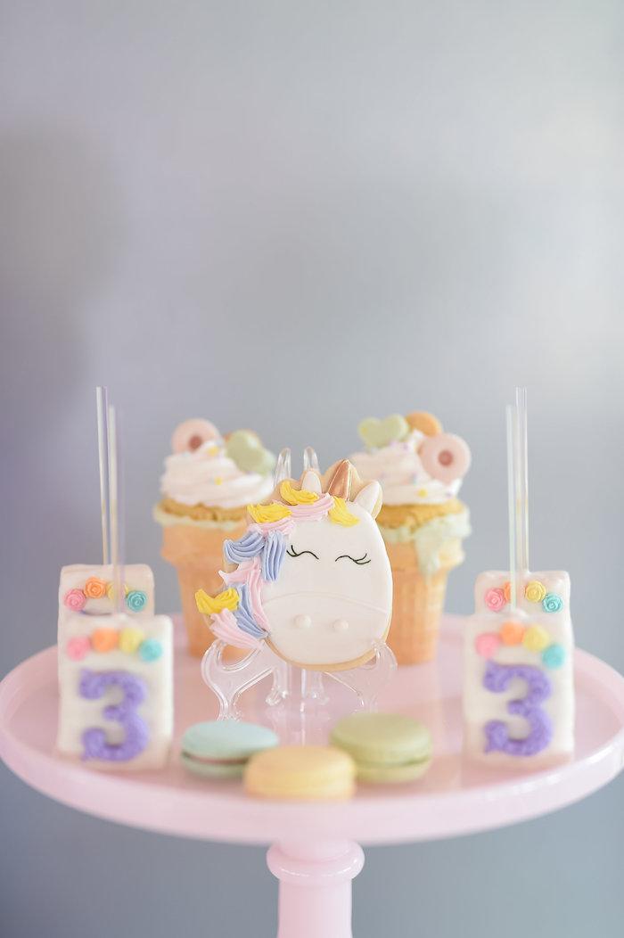 Karas Party Ideas Dream Believe Amp Wish Pastel Unicorn Birthday Party Karas Party Ideas