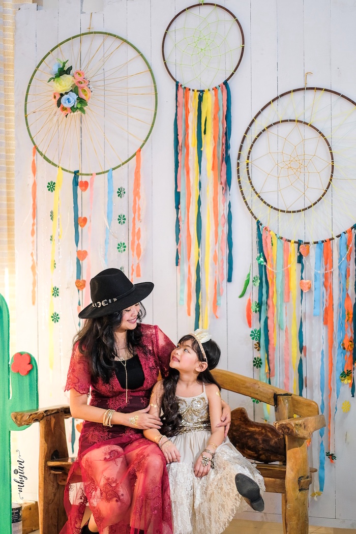 Kara S Party Ideas Coachella Inspired Boho Birthday Party