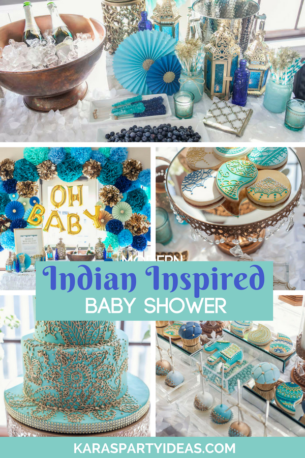 Guest Shower Nautical Baby Tables