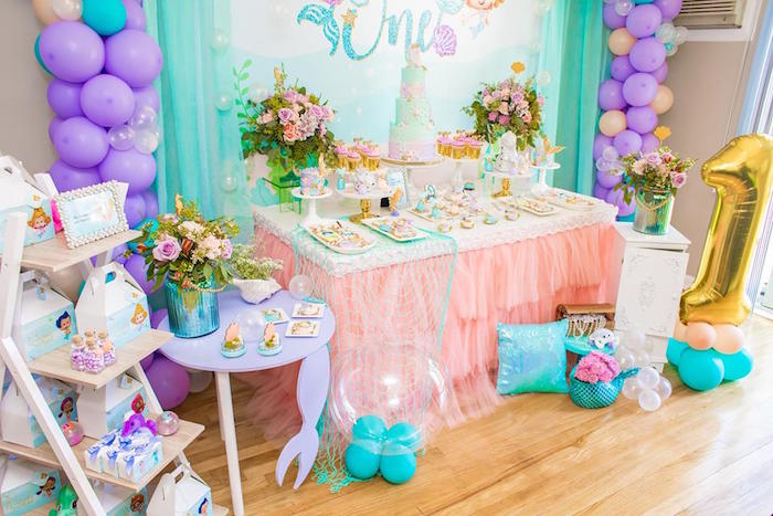 Bubble Guppies First Birthday Decorations