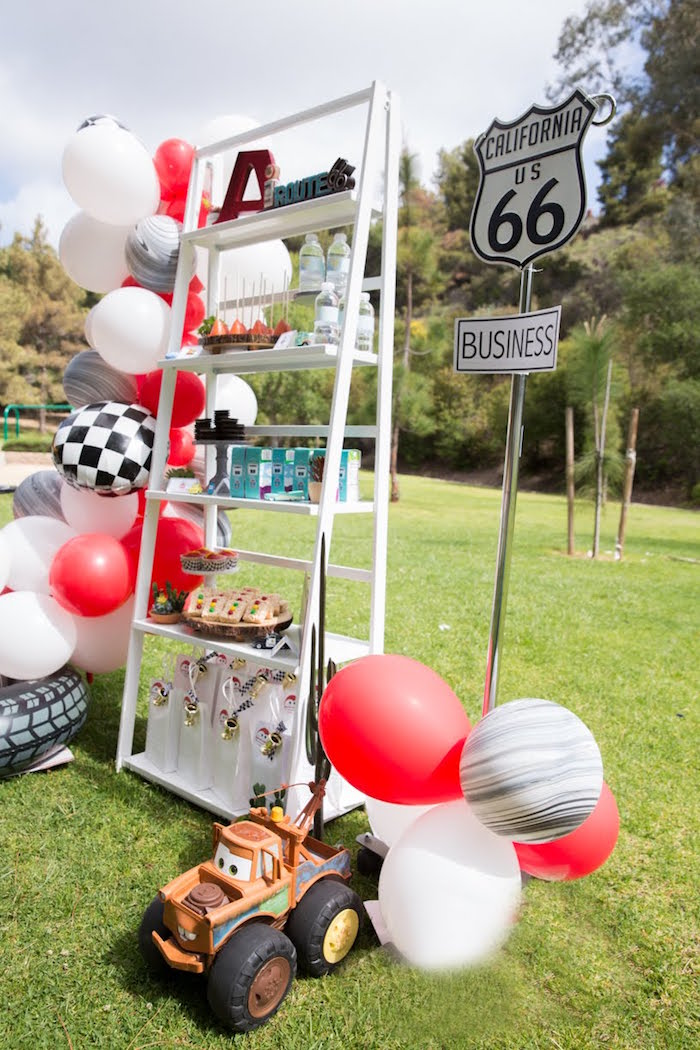 Radiator Springs Route 66