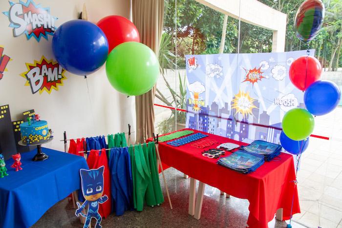 Kara S Party Ideas Pj Masks Birthday Party Kara S Party Ideas