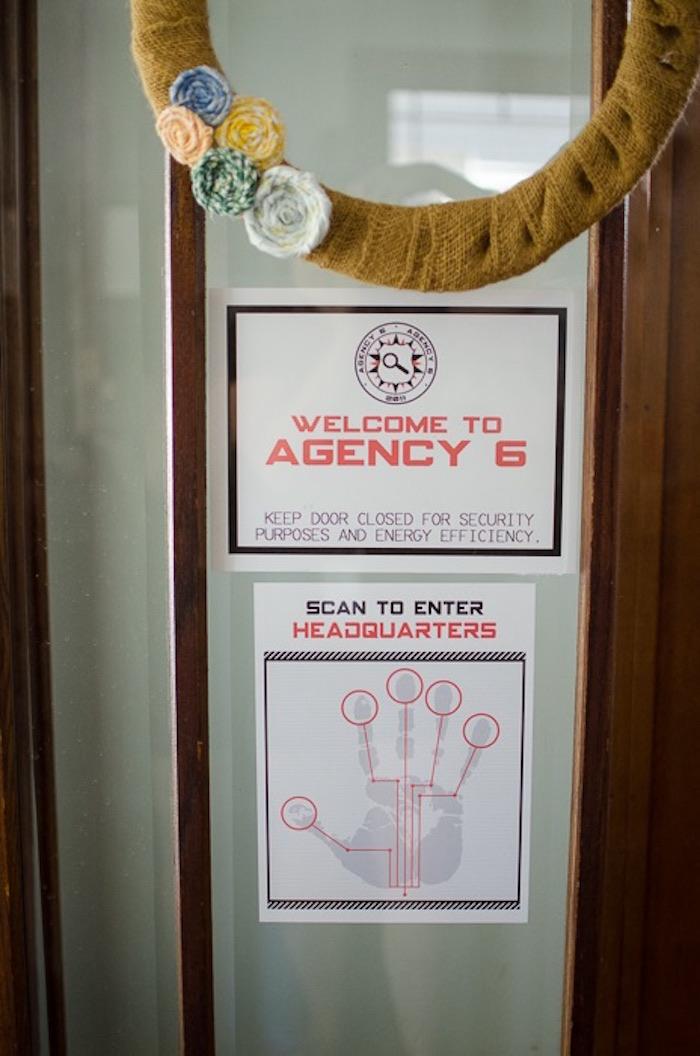 Kara S Party Ideas Secret Agent Spy Birthday Party Kara