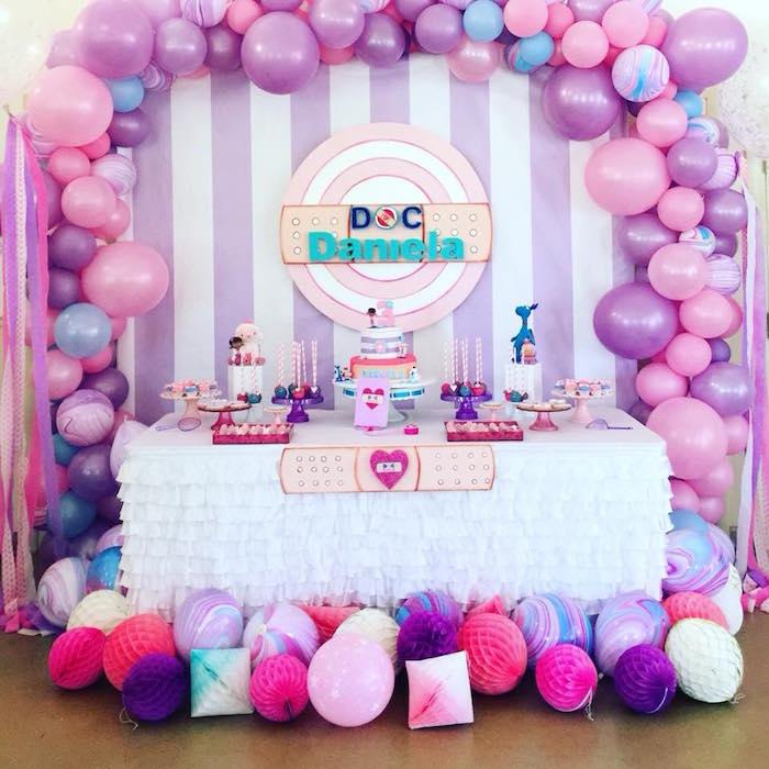 Kara S Party Ideas Doc Mcstuffins Birthday Party Kara S Party Ideas