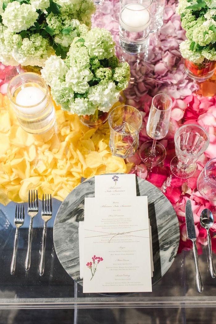 Kara S Party Ideas Floral Garden Dinner Party Kara S