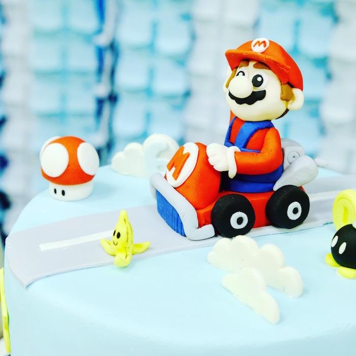 Kara S Party Ideas Mario Kart Birthday Party Kara S Party Ideas