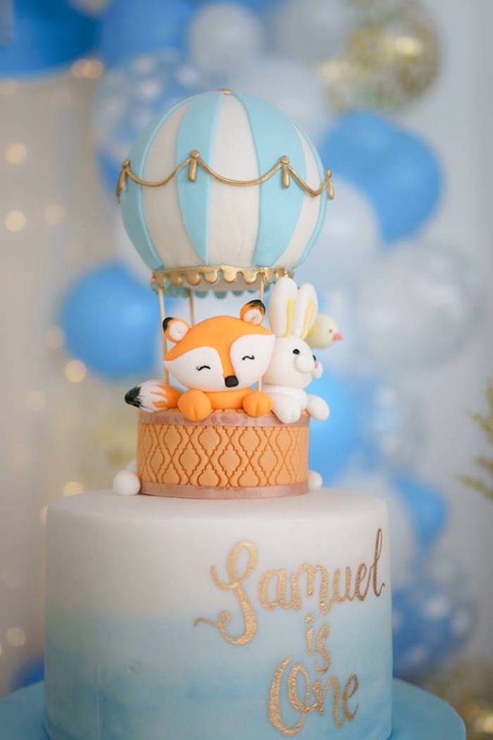 Baby 1st Birthday Centerpieces