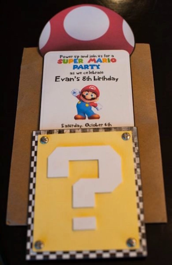 kara s party ideas diy super mario bros