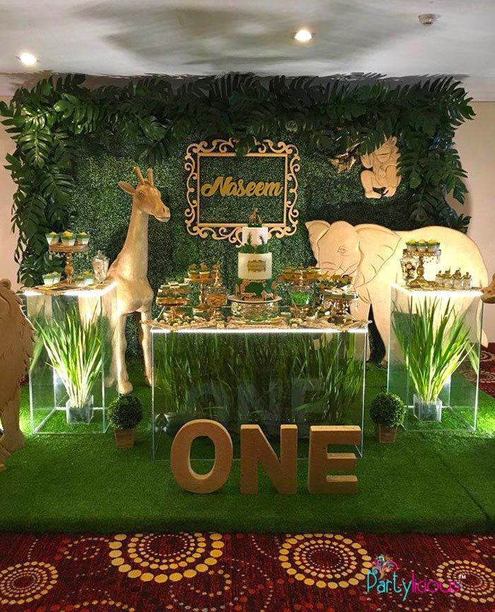 Kara S Party Ideas Golden Safari Birthday Party Kara S