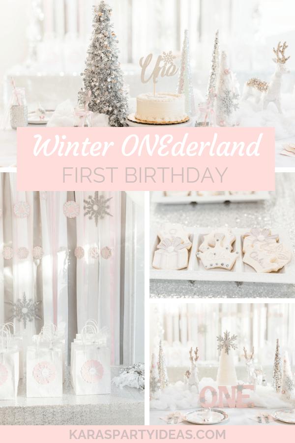 Kara S Party Ideas Winter Onederland First Birthday Kara S Party Ideas