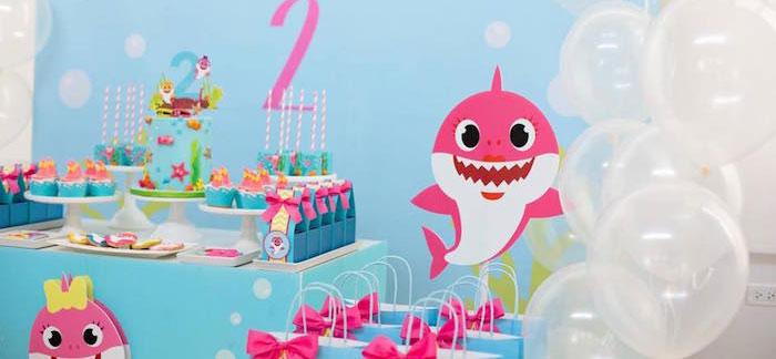 Kara S Party Ideas Baby Shark Birthday Party Kara S Party Ideas