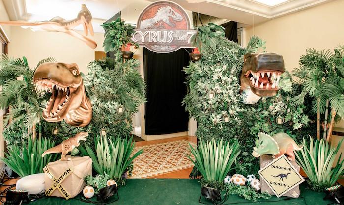 Kara S Party Ideas Jurassic World Birthday Party Kara S Party Ideas
