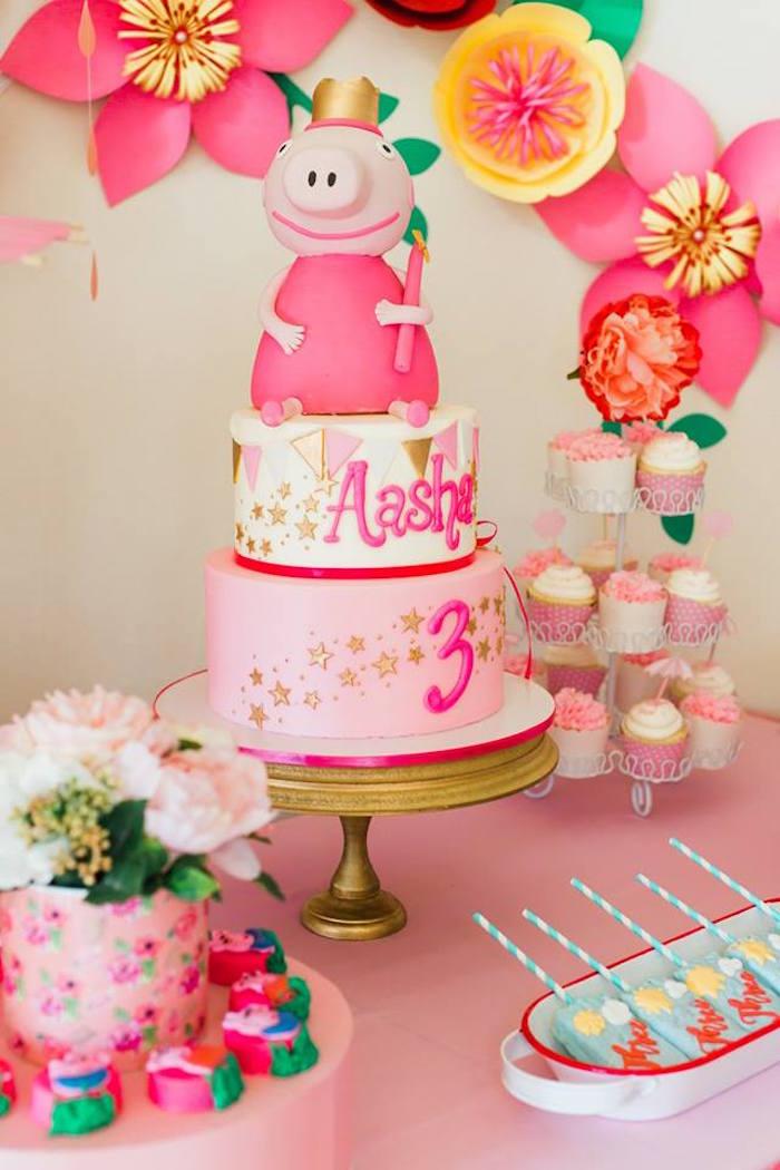 Kara S Party Ideas Peppa Pig Birthday Party Kara S Party