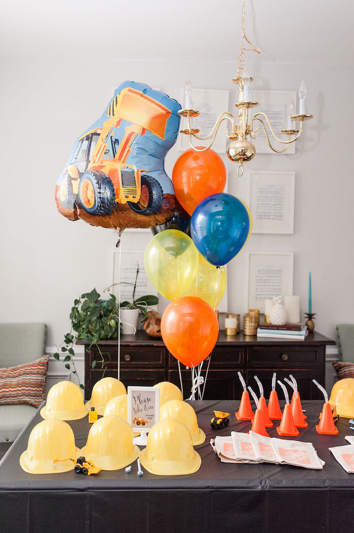 Kara S Party Ideas Quot Can You Dig It Quot Construction Birthday
