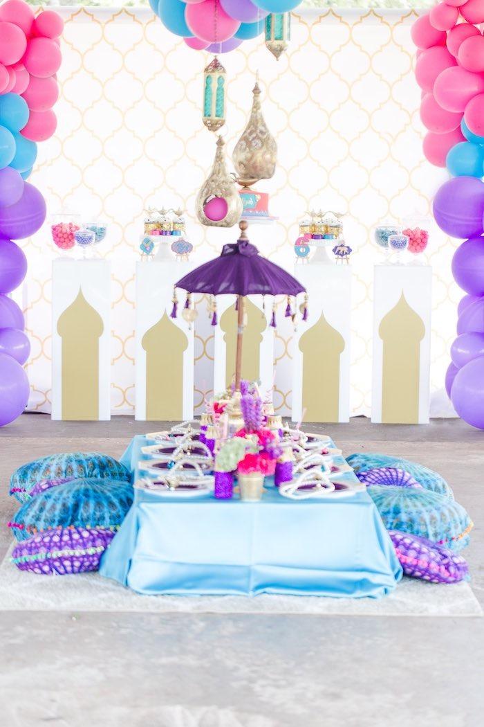 Kara S Party Ideas Shimmer Shine Inspired Arabian Birthday Party Kara S Party Ideas