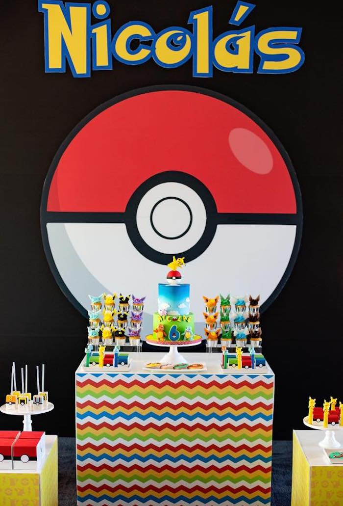 Kara S Party Ideas Pokemon Birthday Party Kara S Party Ideas