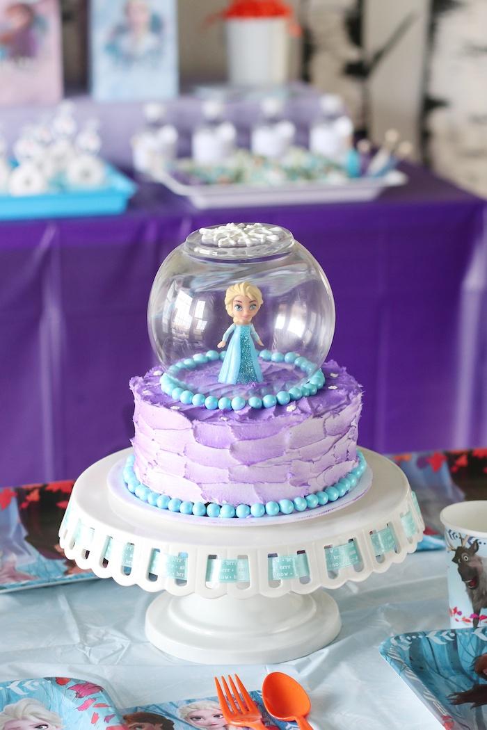 Kara S Party Ideas Frozen 2 Birthday Party With Diy Backdrop Kara S Party Ideas