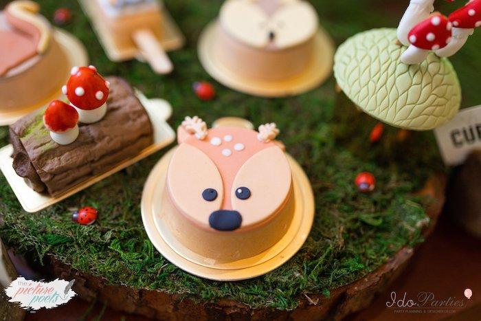 Kara S Party Ideas Woodland Animal Birthday Party Kara S Party Ideas