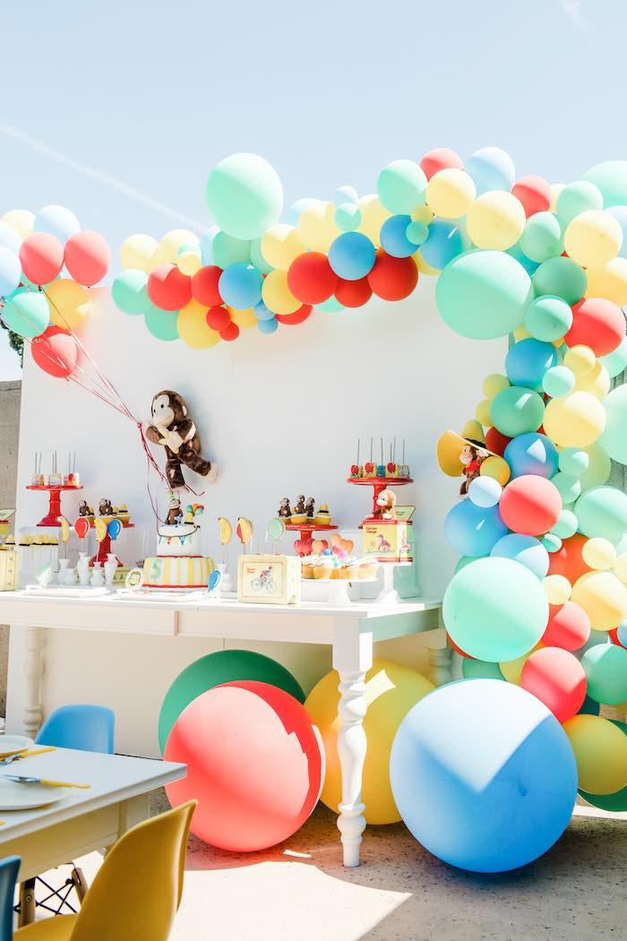 Kara S Party Ideas Curious George Birthday Party Kara S Party Ideas