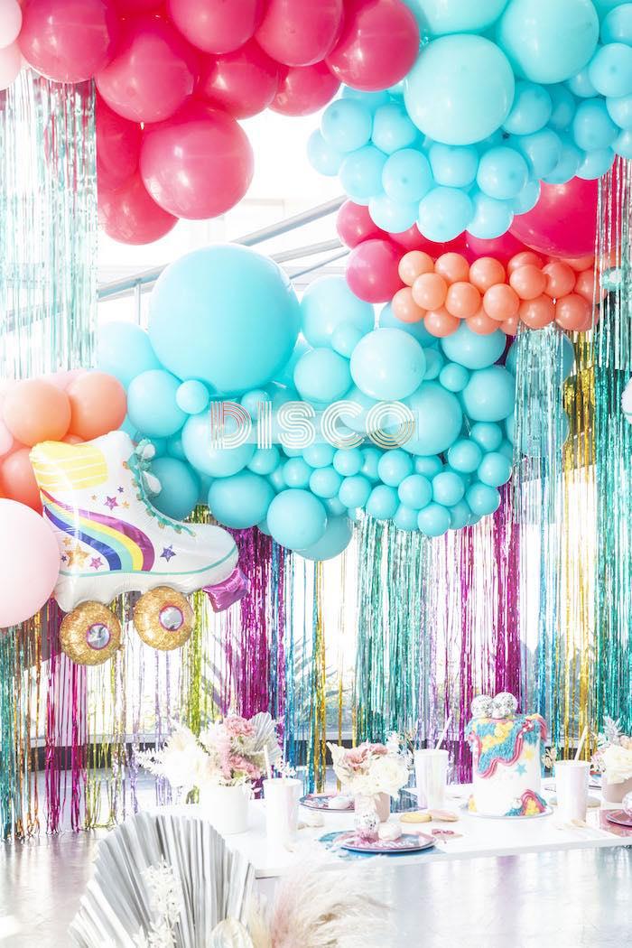 Disco Vibes Party on Kara's Party Ideas | KarasPartyIdeas.com (28)
