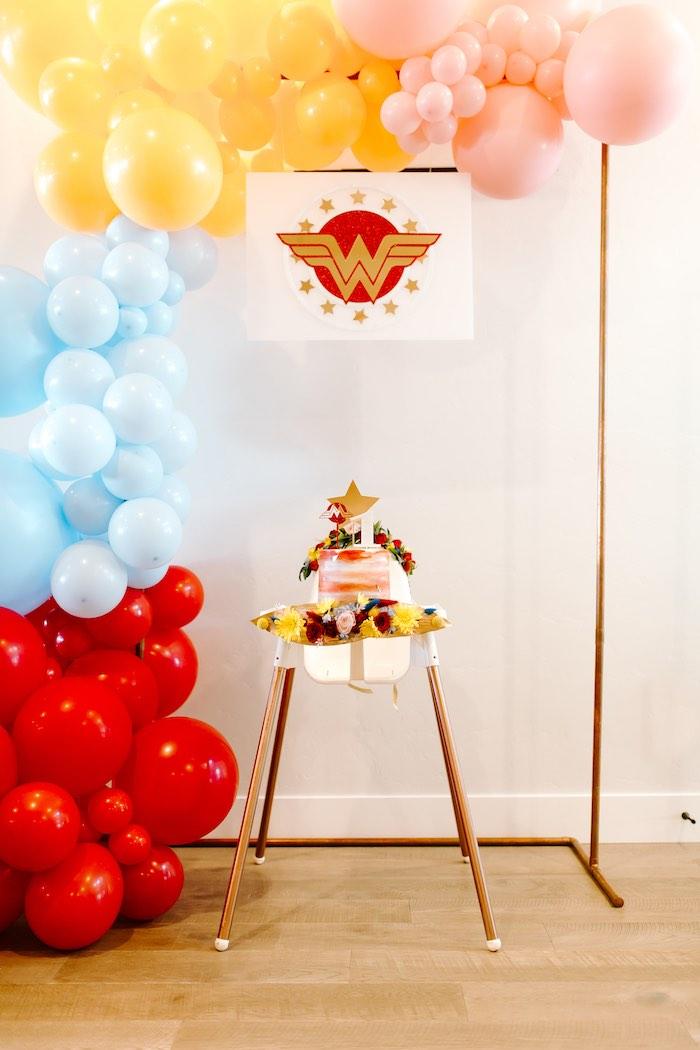 Kara S Party Ideas Wonder Woman Birthday Party Kara S Party Ideas