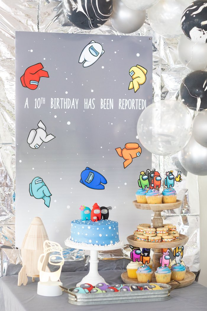 Among Us Birthday Party on Kara's Party Ideas | KarasPartyIdeas.com (12)