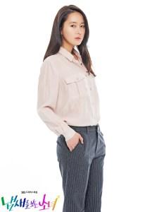 匂いを見る少女 ユン・ジンソ