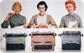 vingtage typewriter ad