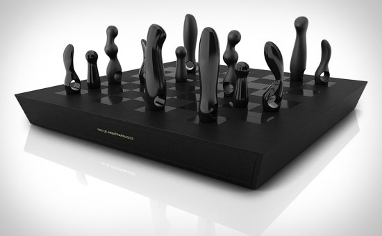 $10,000  Vibrator Chess Set