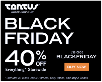 Black Friday Sex Toy Sales - Tantus