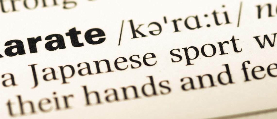 Les 10 mots essentiels du Karaté