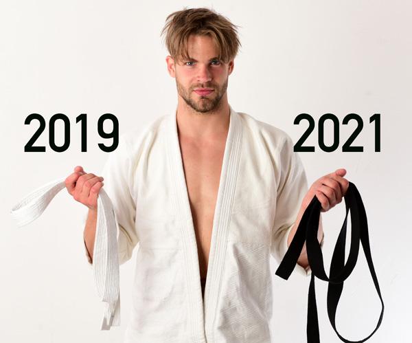 Comment passer sa ceinture noire de karaté en deux ans ?