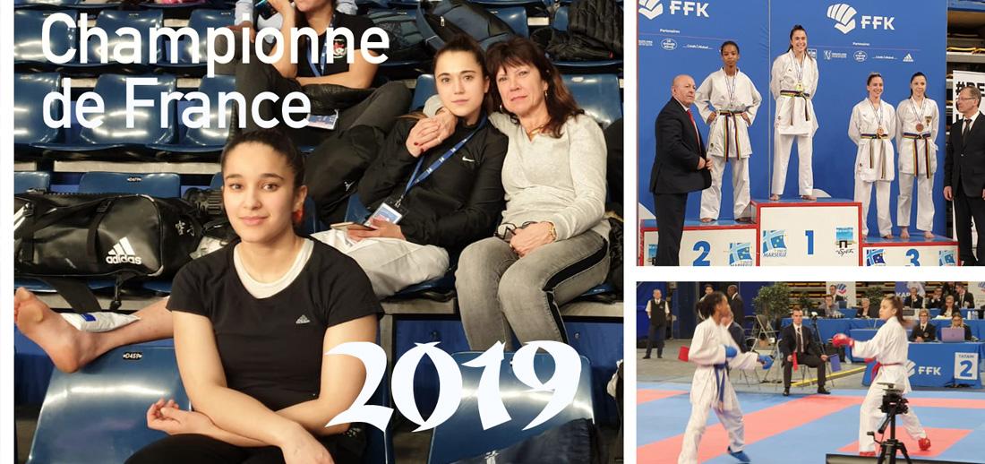 Aurore Bourçois : Championne de France 2019