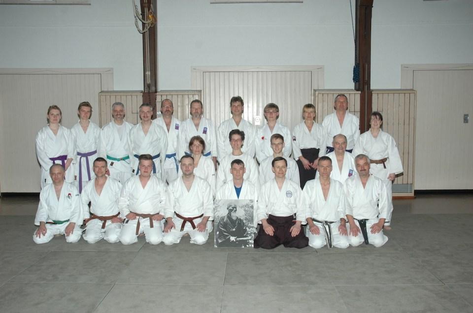 Internes Fortbildungs-Training Aikido – Karate-Do am 15. März 2014