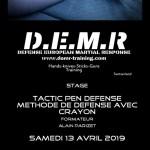 D.E.M.R – stage à Pontarlier le 8 juin