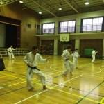 大田区 空手 型の練習